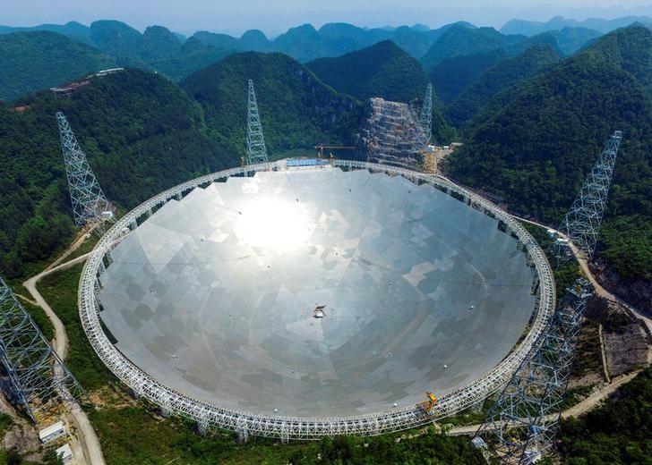 El telescopio gigante de China muestra significativos descubrimientos