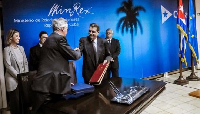 La Unión Europea y Cuba, cada vez más cerca. Foto: Abel Padrón