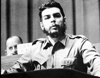 Los guerrilleros encabezados por el Che
