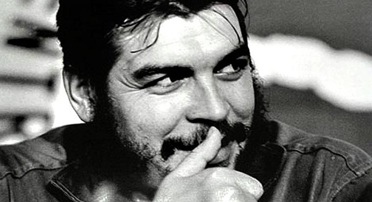 Ernesto Guevara en la ciudad de Huancarama