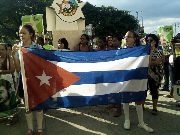 Reafirman jóvenes cubanos apoyo a la Revolución