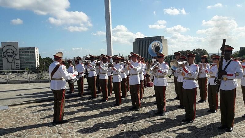 Unidad de Ceremonia estado mayor de las FAR, Memorial José Martí