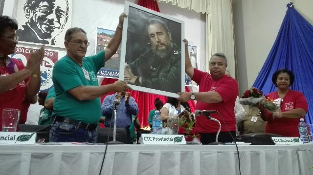 Celebran en Pinar del Rio conferencia XXI Congreso de la CTC