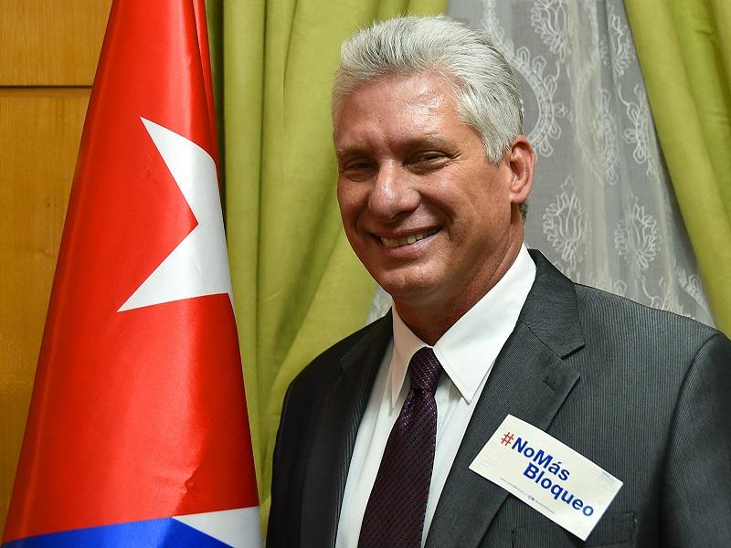 Felicita Díaz-Canel a los cubanos por el del triunfo revolucionario