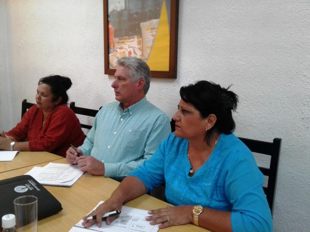 Realiza Díaz-Canel visita gubernamental a Cienfuegos