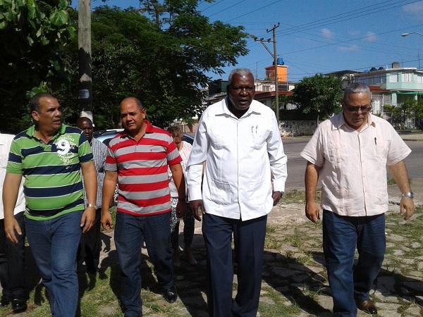 En Audio: Constata Esteban Lazo reanimación de obras en La Habana