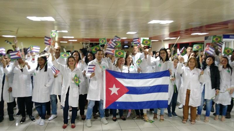 En Audio: Vuelo 14 con Más Médicos de la Patria