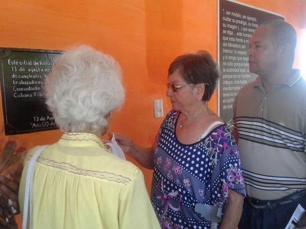 Homenaje a Fidel de la Policía Nacional Revolucionaria