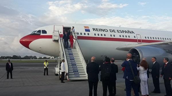 Llega Presidente del Gobierno de España a Cuba