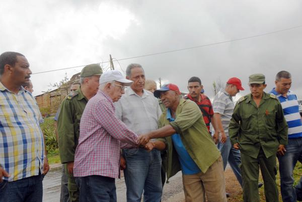 Evalúa Machado Ventura acciones de recuperación en Ciego de Ávila