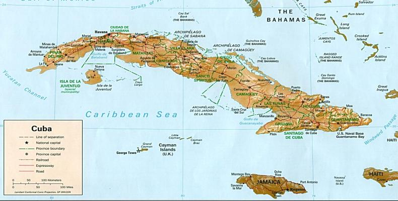 The LX Anniversary of the National Atlas of Cuba