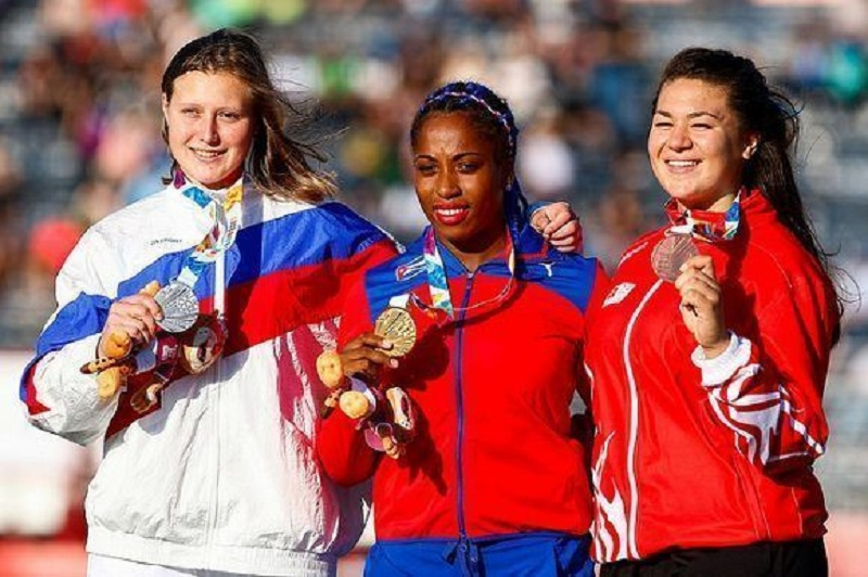 Se tituló discóbola Melany Matheus en Juegos Olímpicos de la Juventud