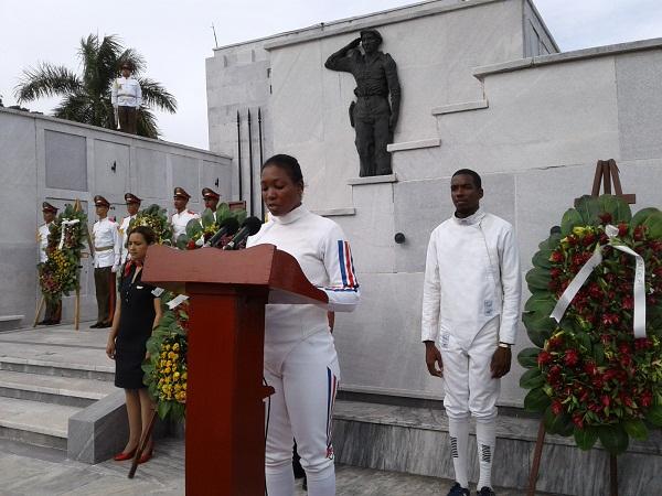 Rinden homenaje a las víctimas del crimen de Barbados
