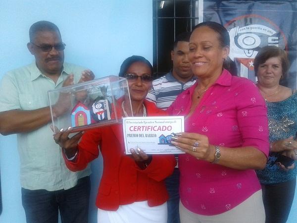 Entregan Premios del Barrio en La Habana