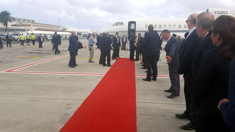 Trasciende calidez oficial de bienvenida a Raúl (+ Video Caricom-Cuba)
