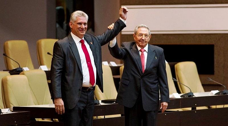 Miguel Díaz-Canel: Electo Presidente de la República de Cuba