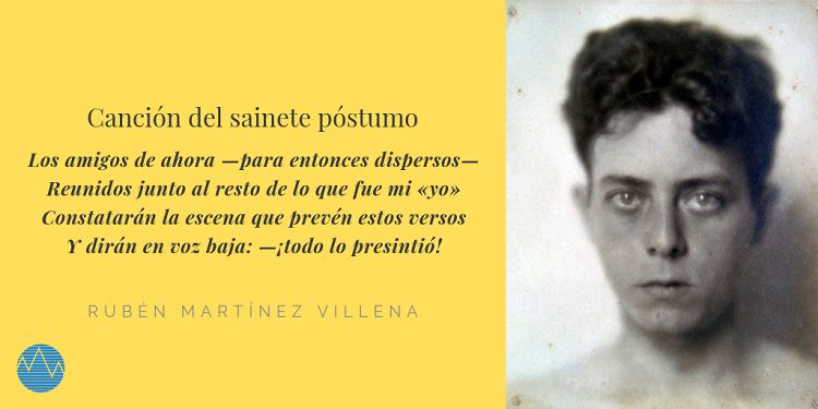 Rubén Martínez Villena, una vida breve pero fecunda