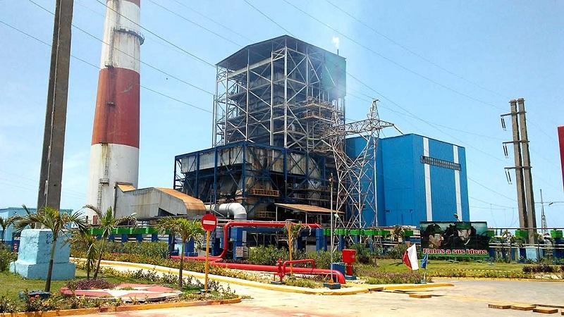Termoeléctrica Antonio Guiteras: en línea y aumentando cargas