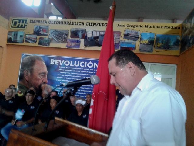 Trabajadores del Sindicato de Industrias hacia su II Conferencia