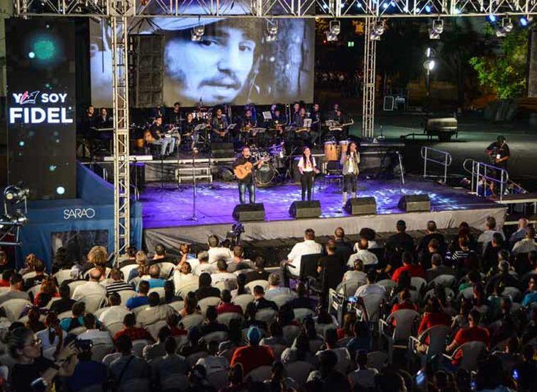 En La Habana y Santiago de Cuba velada cultural en homenaje a Fidel