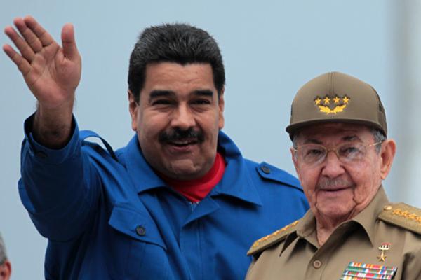 Despidió Raúl a Maduro