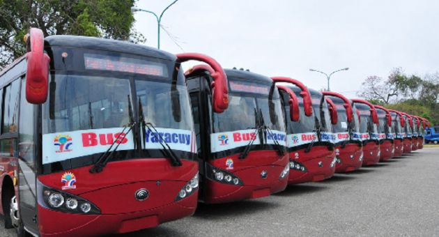 Transportistas capitalinos presentes el Primero de Mayo (+Audio)