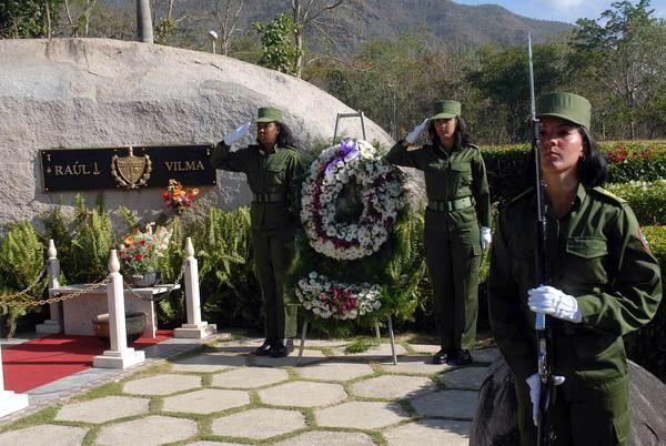 Homenaje a Vilma Espín en el Aniversario 56 de la FMC