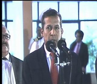 El presidente Ollanta Humala arribó en horas de la mañana a Cuba para participar en la Cumbre de la CELAC