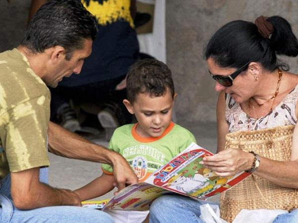 La familia, esencial para la formación de los niños