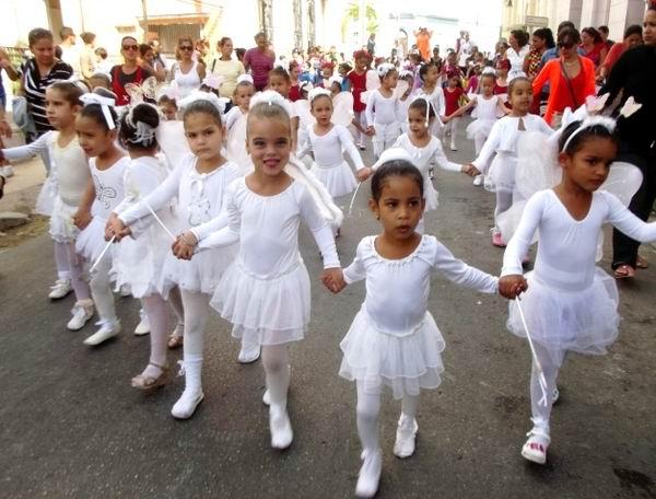 La infancia en Cuba es una inmensa fiesta