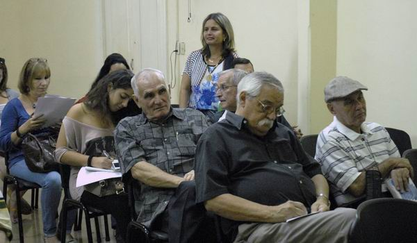 Integrantes del jurado del Premio Nacional de Periodismo José Martí y Juan Gualberto Gómez: Foto: Yoandri Ávila