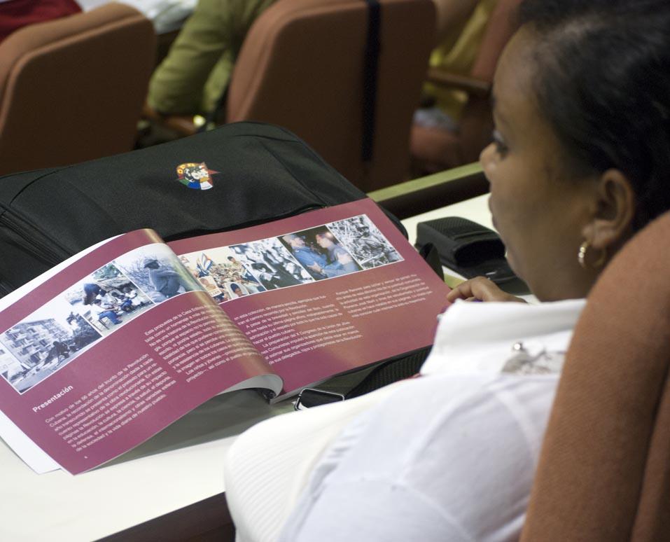 Presentación del libro Razones para luchar y vencer . Foto: Faustino Delgado Alvarez