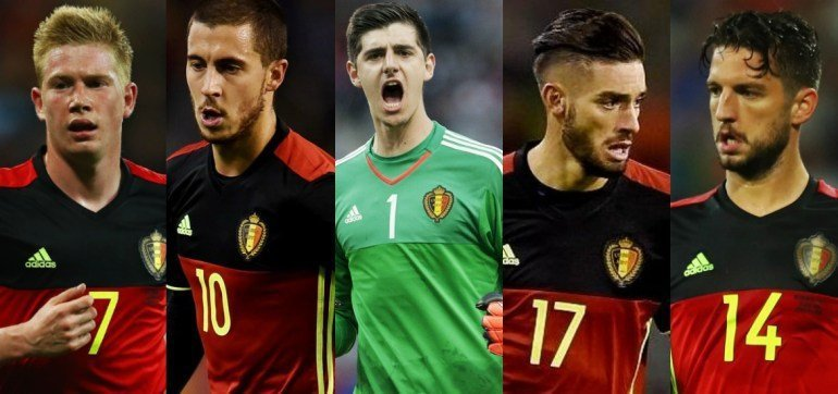 Bélgica vs Inglaterra… precisiones