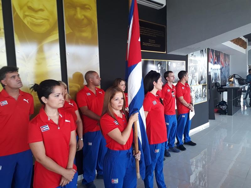 Abanderados equipos cubanos para Olimpiada de Ajedrez (+Audio)