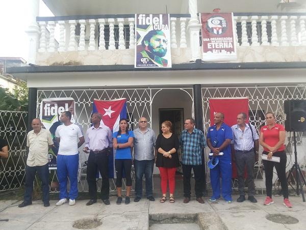 Declaran los CDR y el INDER familia centroamericana