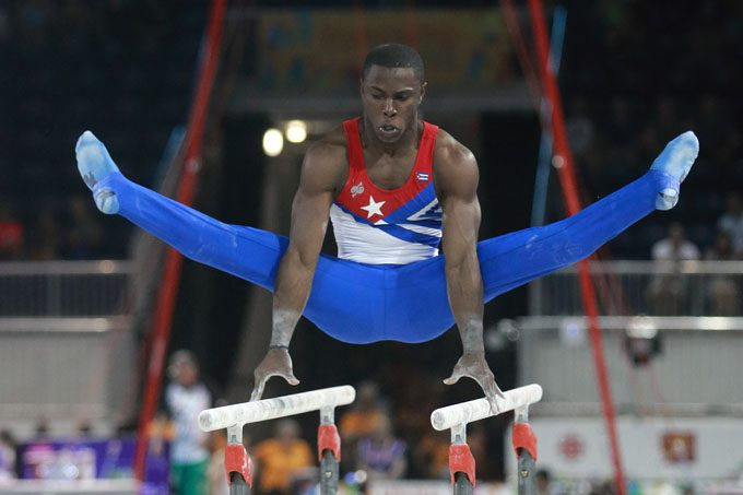 Buena jornada para la delegación cubana de gimnasia