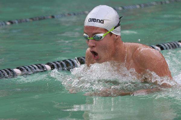 Consigue Luis Emigdio Vega primera medalla de Cuba en la natación