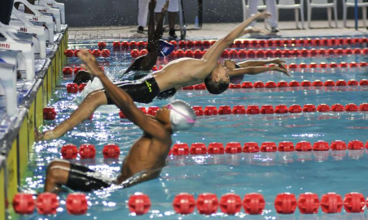 Mejorar marcas personales propósito de los nadadores cubanos
