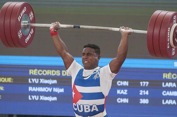 Plata y bronce para Cuba en levantamiento de pesas