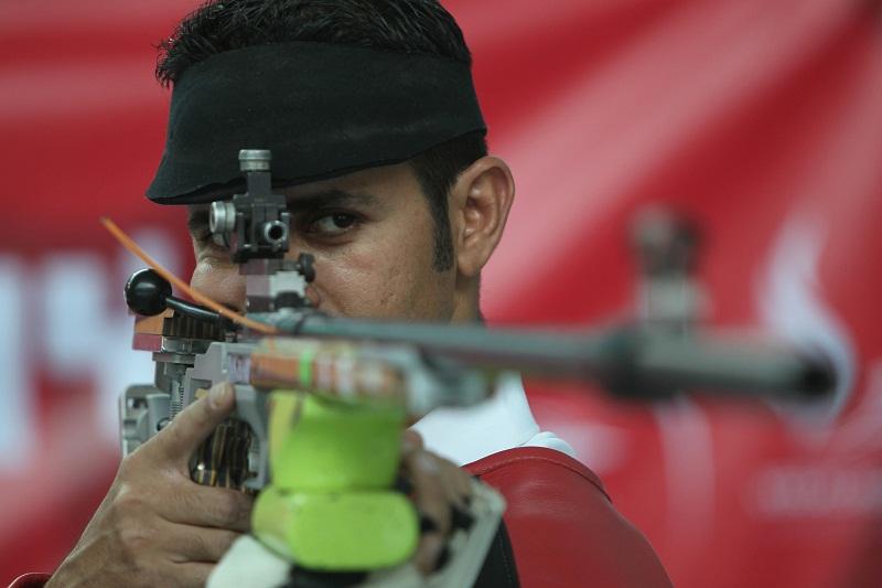 Metal plateado para Cuba en la modalidad de Rifle