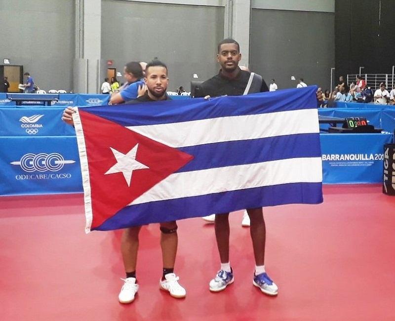 Oro para Cuba en la modalidad de Tenis de Mesa