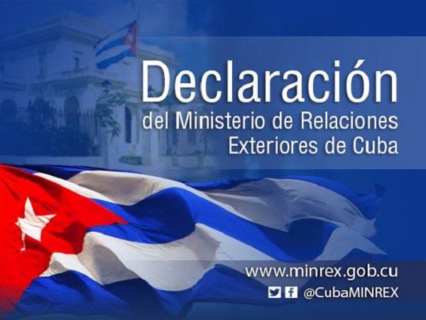 Cuba demanda el cese a la violencia contra colaboradores de la salud en Bolivia