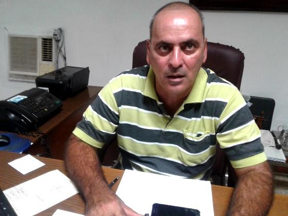Director de la Empresa Azucarera, Arnaldo Costa Delgado.