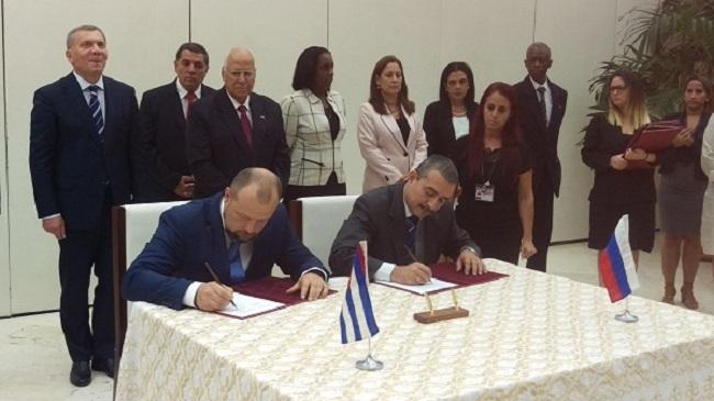 Avanzan proyectos de primera empresa mixta entre Cuba y Rusia