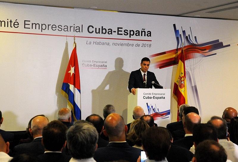 Pedro Sánchez: Cuba y España por relaciones al más alto nivel