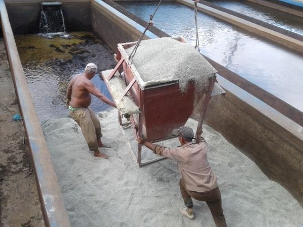 Chequean calidad del agua en Planta Potabilizadora de Cienfuegos