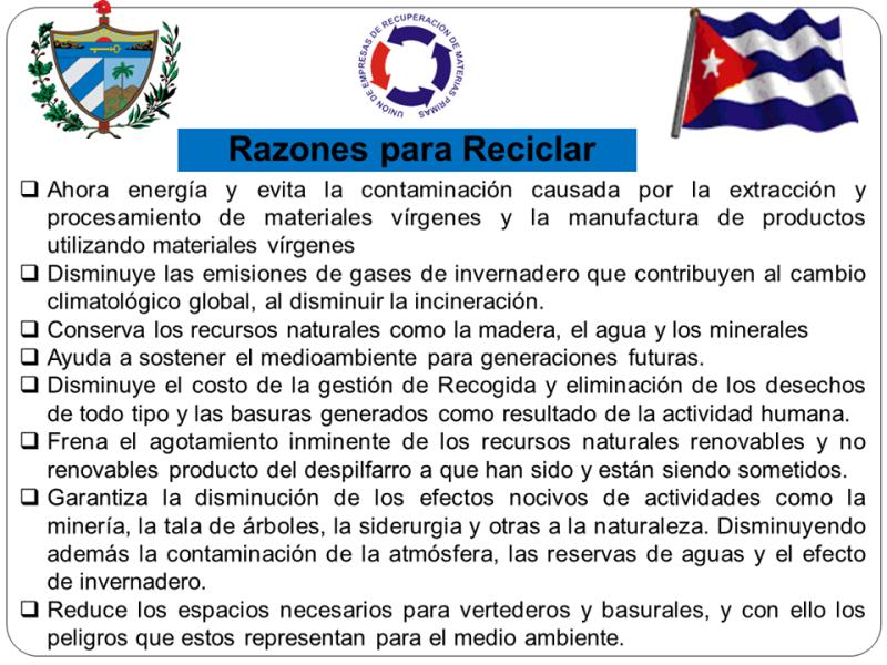 Camagüey sustituye importaciones en la recuperación de materias primas