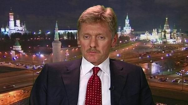 Vocero de la presidencia Rusia, Dimitri Peskov