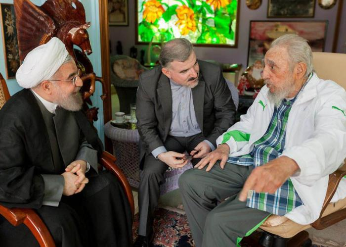 Fidel Castro and President of Iran Hold Friendly Meeting (+Photos)