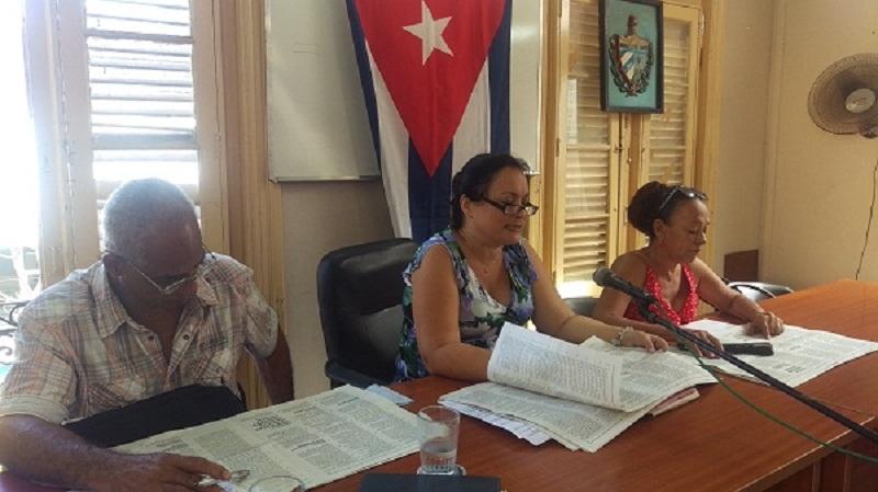 Trabajadores de Planificación Física ratifican proyecto de Constitución